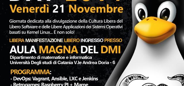 Parteciperemo entusiasti a questo splendido evento di promozione e divulgazione del Software Libero e della filosofia Free Software organizzato dal GNU/Linux User Group (GLUG) a Catania, giorno 21 NOVEMBRE 2014! […]