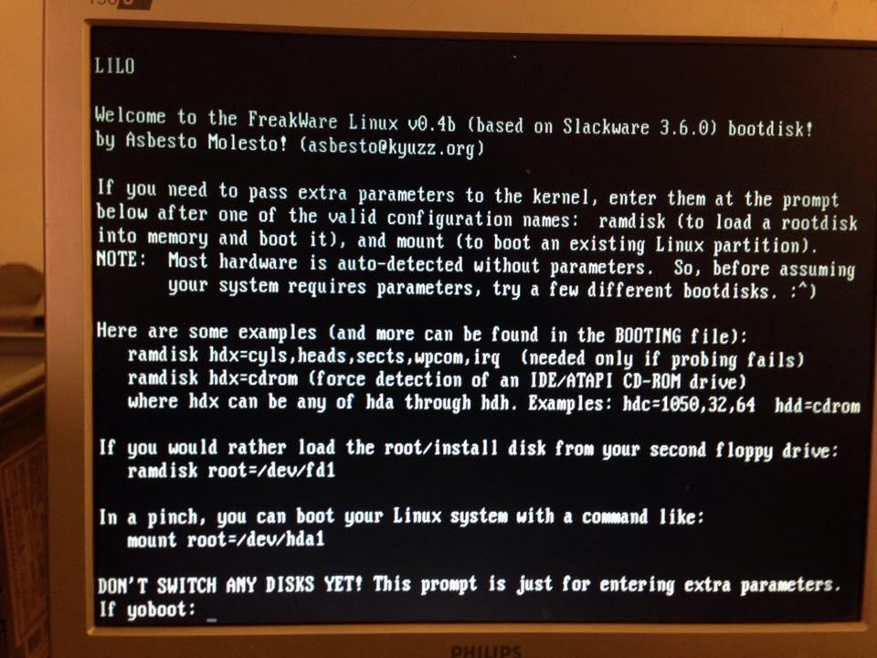 Freakware GNU/Linux 0 4beta     finally published! | Museo